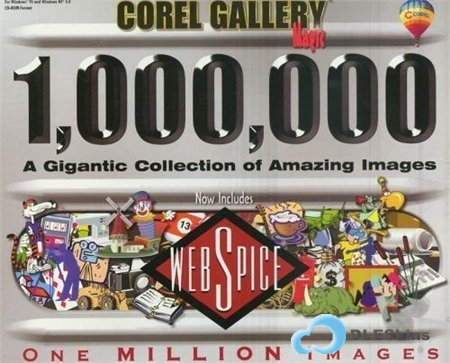 Corel Gallery Magic 1.000.000 Images (15 CD)