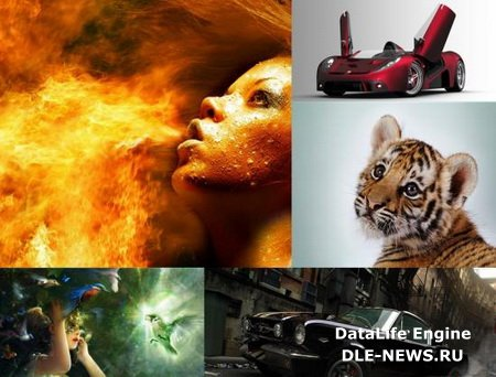 Fresh HQ Widescreen Wallpapers Pack #1/135 шт/