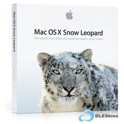 MAC OS X Snow Leopard 10.6.4 [AMD/Intel] (2010г/ENG/RUS)  Image for VmWare